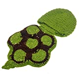 PIXNOR Baby Newborn Turtle Costume Photo Photography Prop 0-6 mon