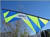 Revolution 1.5 SLE Quad Line Stunt Kite Lime Blue Made in the USA