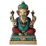 Redbag God Vinayaka - Decorative Brass Sculpture 4810 ( 36.20 Cm, 24.13 Cm, 18.42 Cm)