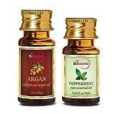 St.Botanica Argan Oil (30ml) + Peppermint Pure Essential Oil (10ml)