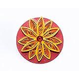 Calamus Fridge Magnet With Beautiful Paper Quilling - B015SOLF6U