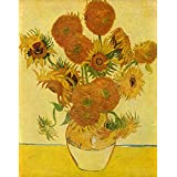 The Museum Outlet - Still Life With Sunflowers By Van Gogh - Poster (24 X 18 Inch)