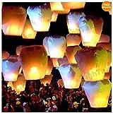 Generic 10 Pcs Kongming Lantern , Flying Sky Lantern Wishing Lamp BIRTHDAY, WEDDING PARTY, 10pcs/lot