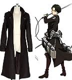 Onecos Attack on Titan (Shingeki No Kyojin) Trench Coat Cosplay Costume