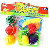 Sliceable Fruits For Kids.Fruits And Vegetable Cutting Play Toy Set For Kids, Chopping Fruits And Vegetables For Kids