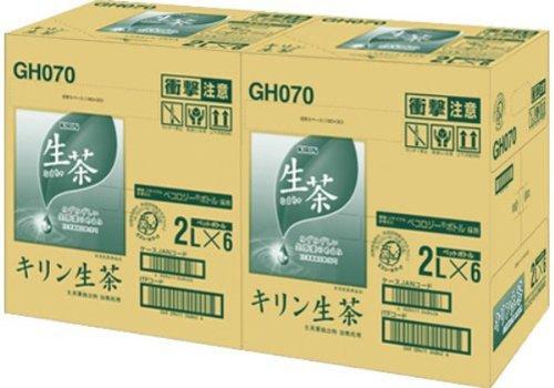 [2CS]キリン 生茶(2L×6本)×2箱