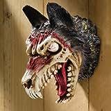Design Toscano Werewolf Zombie Wall Sculpture Multicolored