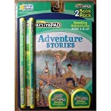 ActivePAD 2 Pack - Adventure Stories & Animal Stories - Stories Include Treasure Island, Gulliver's Travels, Swiss...