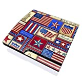 Flag Patchwork Design Skin Decal Sticker For The Playstation 3 Ps3 Slim Console