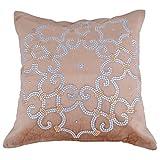 Define Karan Black Cushion Cover (16*16)
