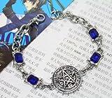 New Yamasaki Kuroshitsuji Black Butler Ciel Phantomhive Cosplay Bracelet