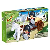 BanBao Knights With Horse And Cart Building Set, 48-Piece