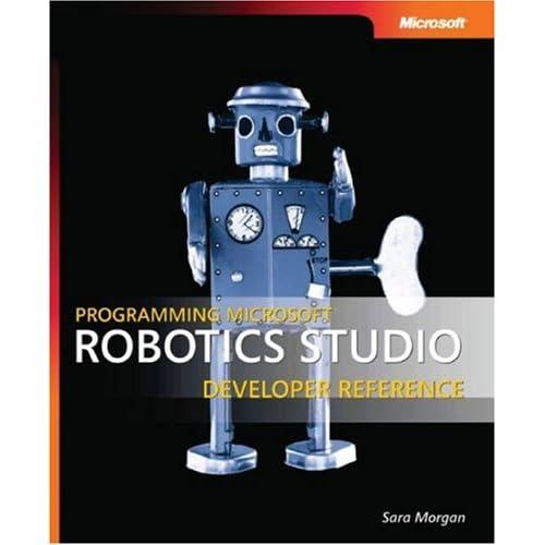 Portada del libro de Robotics Studio