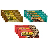 NEW Clif Mojo Sweet And Salty - Trail Mix Bar - Variety Pack 3 Flavors 12 Bars (4 Dark Chocolate Almond Coconut...