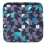 Tenba 633-314 Switch 7 Interchangeable Flap Blue/Gray Geometric (Blue/Gray Geometric)