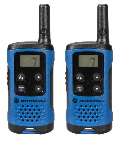 Motorola TLKR T41 - Walkie-Talkie, azul