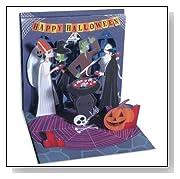 Monster Party Pop up Hallowen Card