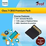 Class 7 CBSE Premium Pack Course In Memory Card