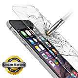 IPhone 6 Plus Screen Protector, Gembonics Tempered Glass, 99% Touch-screen Accurate, Round Edge [0.3mm] Ultra-clear...