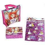 Disneys Princess Sofia Small Reusable Tote & Puzzle + Stickers Lot 3