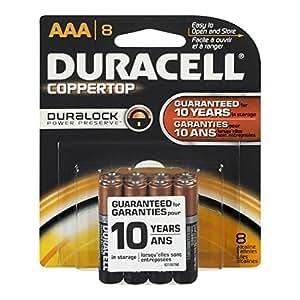 Amazon.com: Duracell Ultra AAA Batteries (8 Batteries