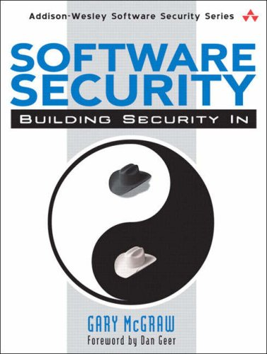 Free ebook download pdf without registration Software Security: Building Security In MOBI RTF 9780321356703