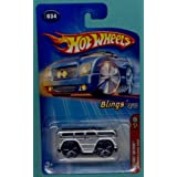 Hot Wheels 2005 First Editions 1:64 Scale Blings Silver Mercedes Benz G500 Truck SUV Die Cast Car #0