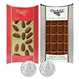 Chocholik Belgium Chocolate Gifts - Crunchy Combo Of Chocolate Bars With 5gm X 2 Pure Silver Coins - Gifts For...