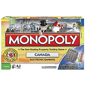 Click to buy Canadian Monopoly from Amazon!