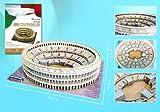 Roman Colosseum 3D Puzzle with Book, 84-Piece