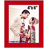 Red Photo Frame Photo Size: 4x6inch || Frame Size: 6x8inch || Units : 1