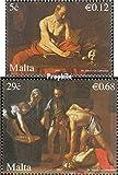 Malta 1523-1524 (complete.issue.) 2007 Caravaggio (Stamps for collectors)