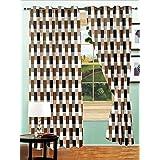 Story @ Home Nature Designer Eyelet Door Curtain-Set Of 2 - B00RLKM06Y
