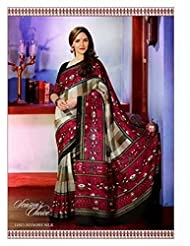 AASRI Women Party Wear Printed Bhagalpuri Art Silk Saree 11927