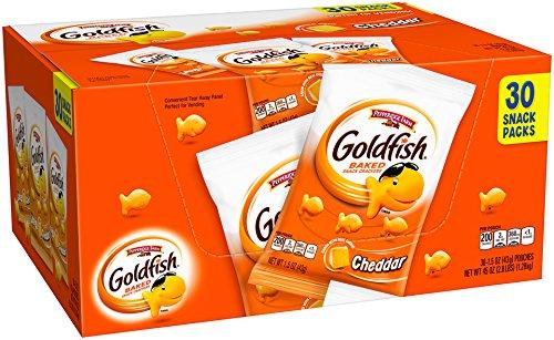 Pepperidge Farm Goldfish Crackers Cheddar, 45 Ounce