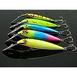 Generic 5pcs Multi Carp Iscas Artificiais Soft Bait Pesca Minnow Fresh Water Fishing Hard Set 12.5cm 12.8g New...