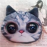 Gossipgirl Cat Face Small Purse-Flash pupil