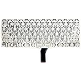 "COMPATIBLE KEYBOARD FOR APPLE MACBOOK AIR 11"" A1370 / A1465 (YEAR 2011 2012) IN US LAYOUT FROM ET MC968/ MC969..."