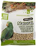 ZuPreem Natural Premium Daily Bird Food for Medium/Large Birds (Parrot) - 3 lbs.