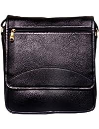 Leather World 100 %Genuine Leather Laptop Office Messenger Cross Body Bags For Men & Women