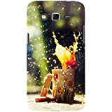 For Samsung Galaxy Grand Neo I9060 :: Samsung Galaxy Grand Lite I Am Just A Cool Boy ( I Am Just A Cool Boy, Good Quotes, Blue Background, Nice Quotes ) Printed Designer Back Case Cover By TAKKLOO
