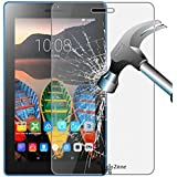 Hello Zone Tempered Glass Toughened Glass Screen Protector For I Kall K1 Tablet