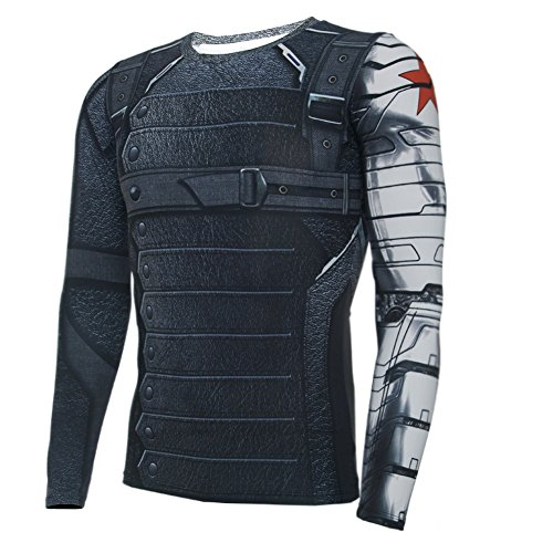 Winter Soldier T shirt Outdoor Sports Shirt