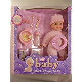 37cm Baby Girl Doll Play Set - With 10 Sounds - All Accessories Included [Toy]