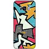 For Samsung Galaxy S8 Edge Raffiti Geometric Seamless Pattern ( Raffiti Geometric Seamless Pattern, Grunge Effect, Seamless Pattern ) Printed Designer Back Case Cover By FashionCops