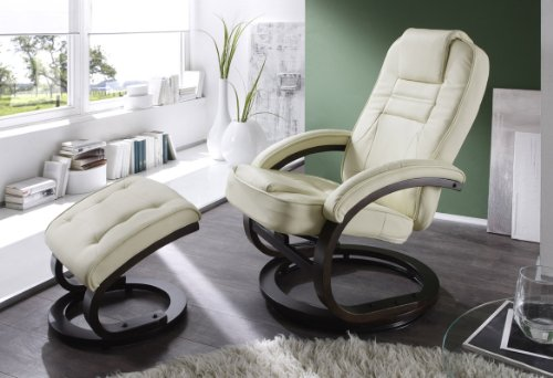Relaxsessel TV-Sessel Creme - 007-C/106 - Gestell