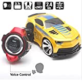 RIANZ All New Imported Latest Technology 2.4 Ghz Smart Watch 8 Voice / Radio / Remote Control - B01M9A634C