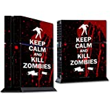 Mightyskins Protective Vinyl Skin Decal Cover For Sony Play Station 4 Ps4 Console Wrap Sticker Skins Kill Zombies