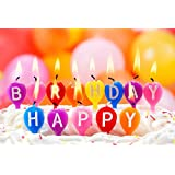 Happy Birthday Candels ON FINE ART PAPER HD QUALITY WALLPAPER POSTER