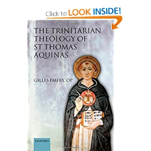 The Trinitarian Theology of St Thomas Aquinas Francesca Murphy, Gilles Emery